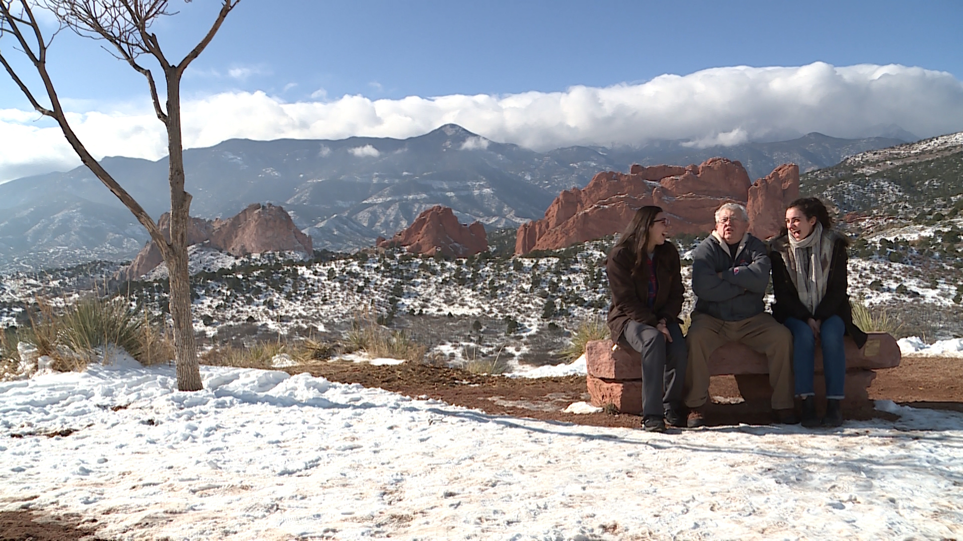 Families enjoy Garden of the Gods