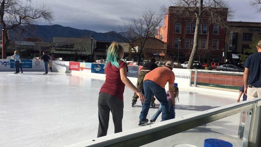 Acacia Park ice skating