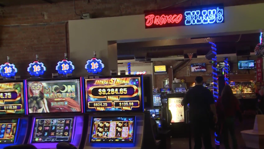 Inside Bronco Billy's Casino in Cripple Creek
