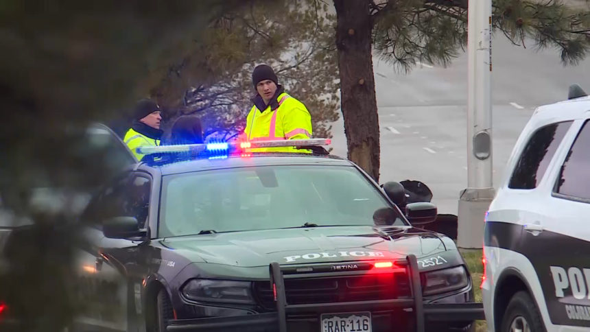 CSPD responding to a fatal wreck in May.