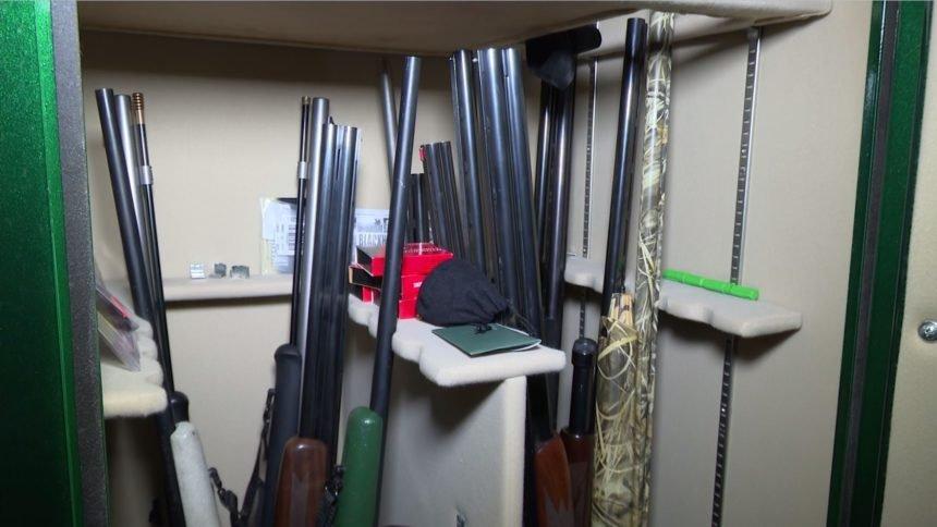 guns in gun safe Cropped