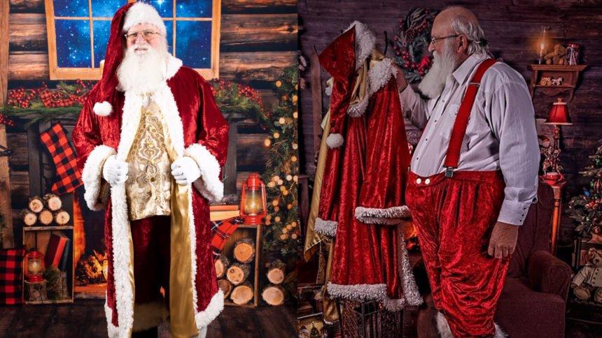 Santa Jim, an amputee