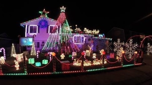 Deer With Christmas Lights In Colorado Springs 2020 Map of Christmas lights in Colorado Springs   KRDO