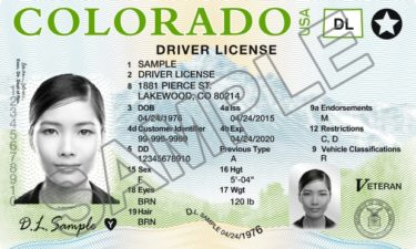 Real ID sample