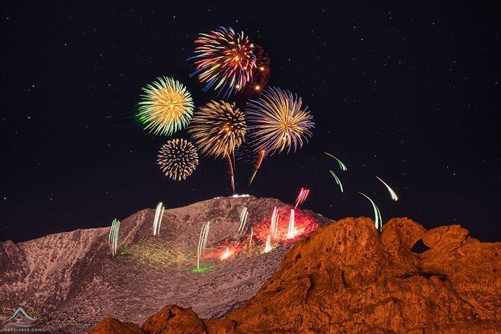 Lars Leber NYE 2019 fireworks