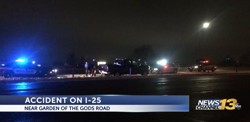 I-25 accident