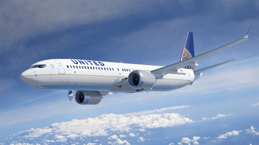united airlines airplane generic