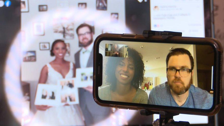 Facebook Live wedding
