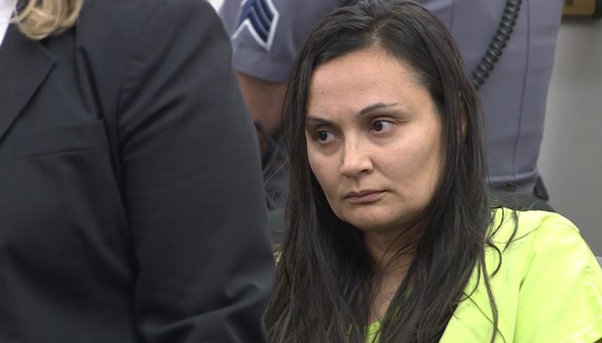 Letecia Stauch in El Paso County court