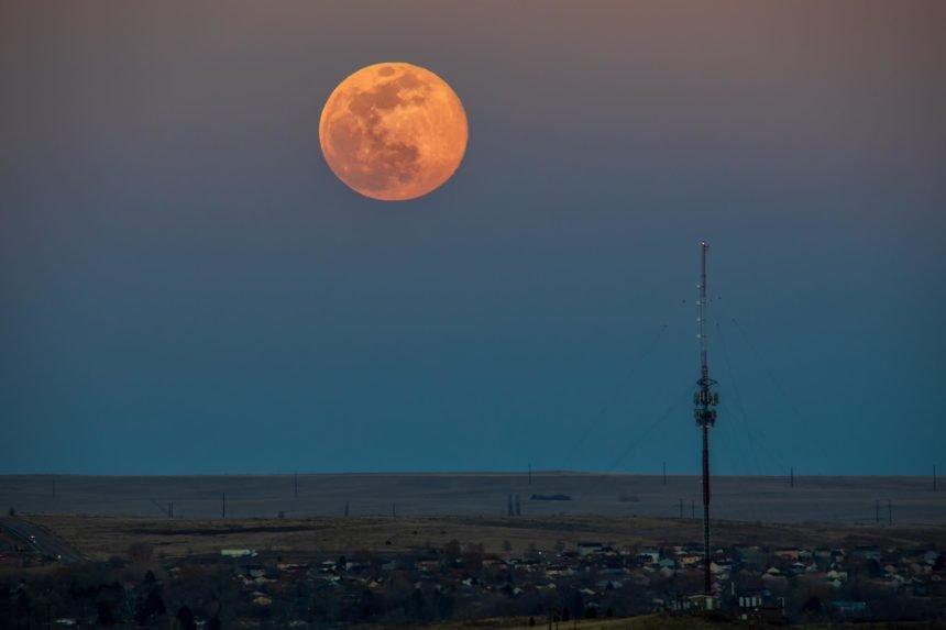 Bruce Hausknecht pink moon