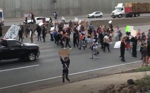 denver protest brett forrest