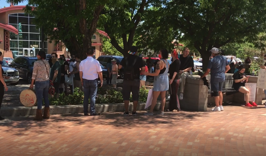 Rally In Pueblo Saturday Protests Police Violence Krdo