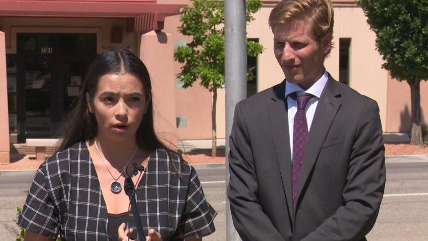 Jaelyn Cedillo and Cedillo Family Attorney Sean Simeson