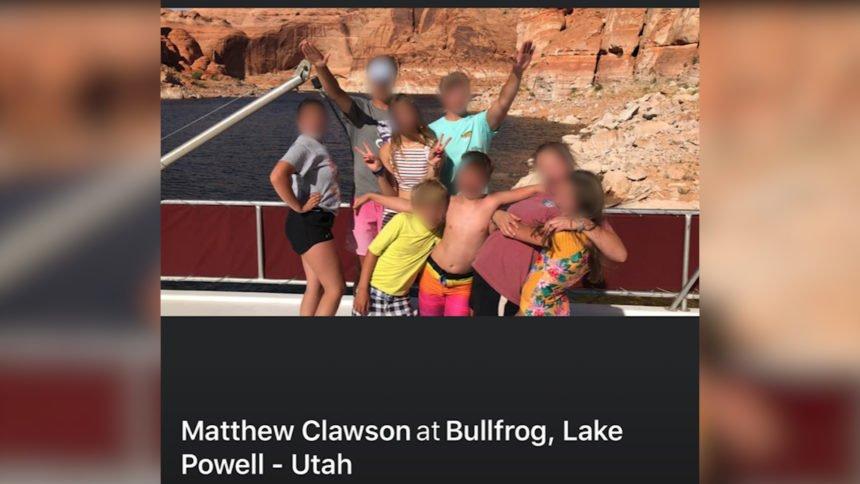 Matt Clawson children nazi salute