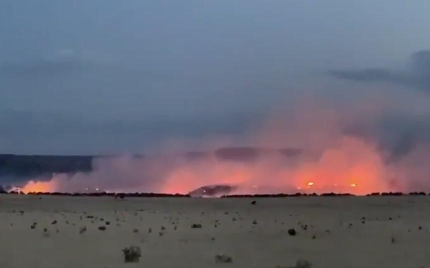 otero county grass fire
