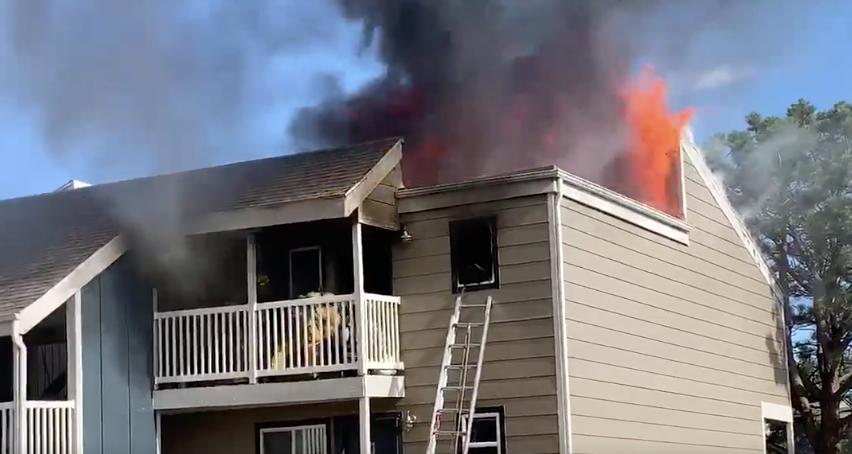 apartment fire murray boulevard