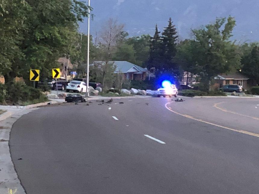s circle motorcycle crash