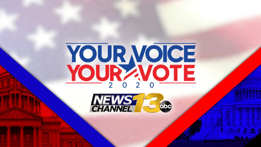 your voice your vote election graphic