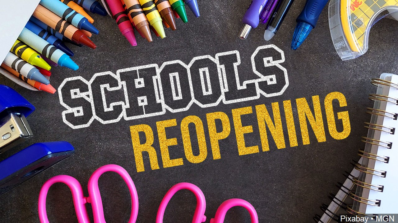 Back to school schools reopening