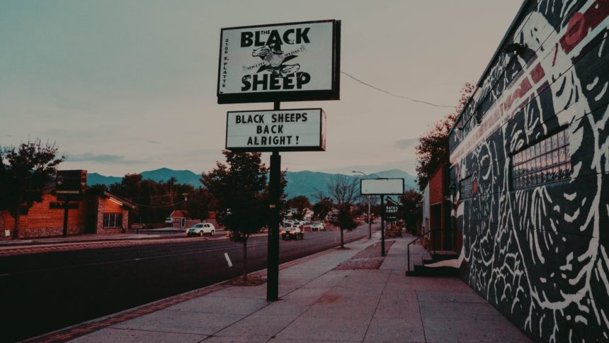 black sheep Cropped