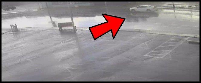 pueblo hit and run white car