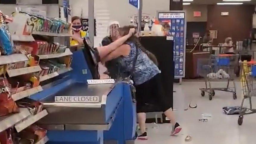 Walmart brawl