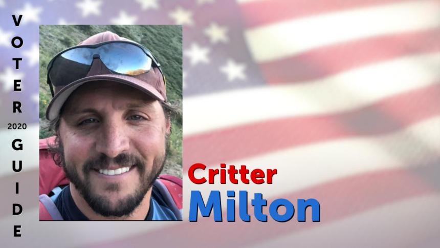 Critter Milton graphic