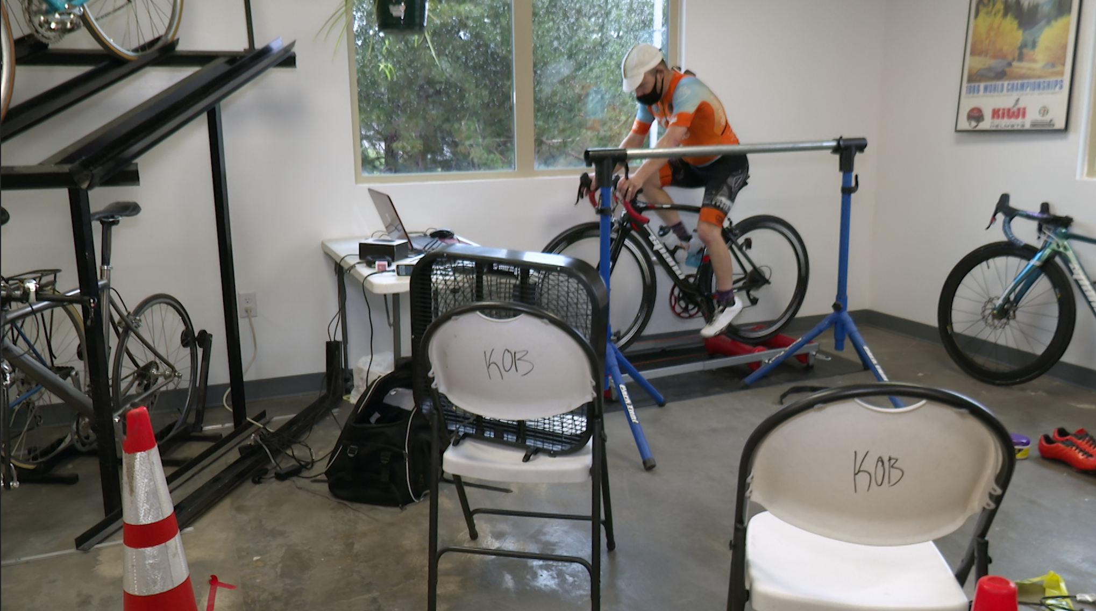 Daryl Spano biking to raise money and awareness for local Kids on Bikes charity