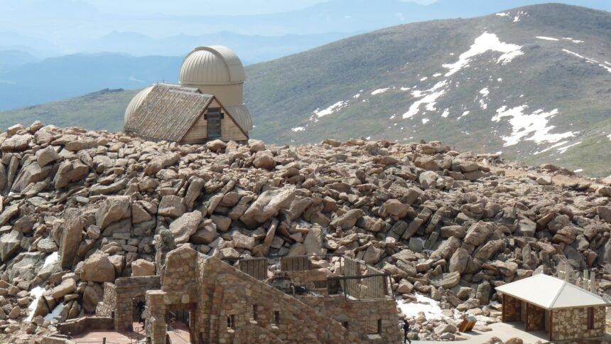 Summit of Mount Evans Interpretive Site Cropped