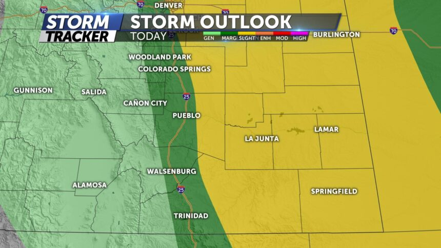 Tuesday Severe Outlook