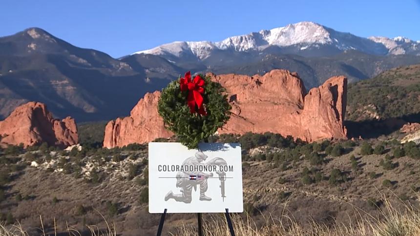 colorado honor wreath