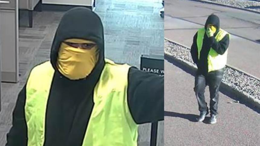 cos bank robbery suspect
