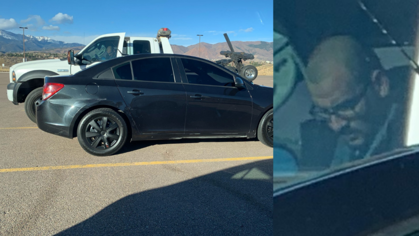 suspect car breakins UCCS
