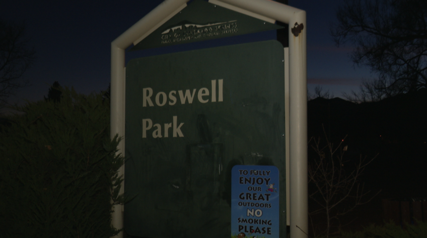 Roswell Park graffiti
