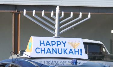 Menorah car parade starting at the Chabad Jewish Center of Colorado Springs Sunday