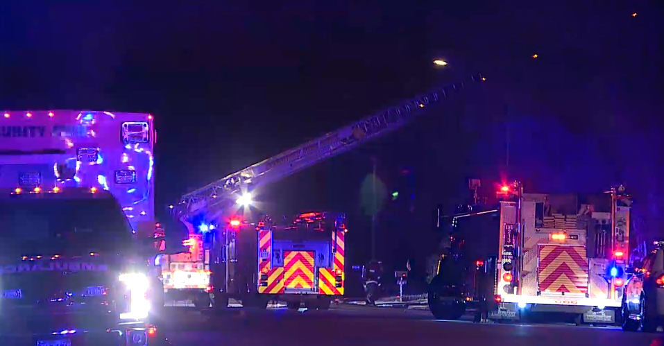 No one was hurt after a fire broke out at a Fountain home early Friday morning.