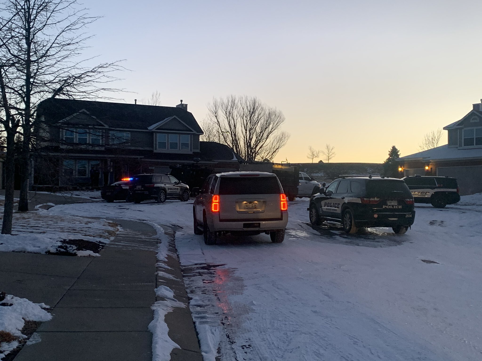 Police activity prompted a shelter-in-place for a Briargate neighborhood early Tuesday.