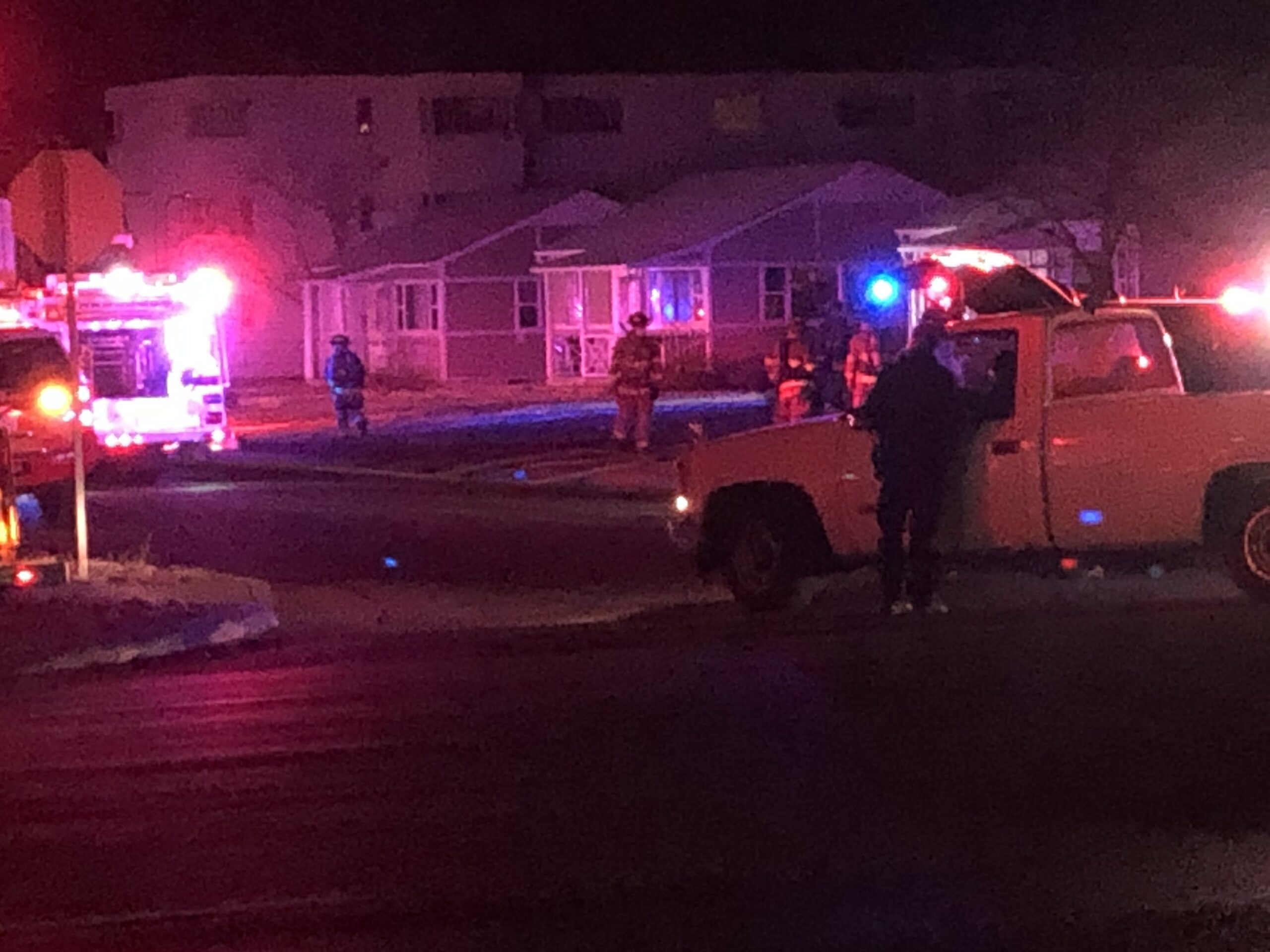 Colorado Springs fire crews responded to an overnight house fire on Tejon Street Monday.