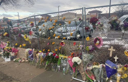 King Soopers memorial in Boulder