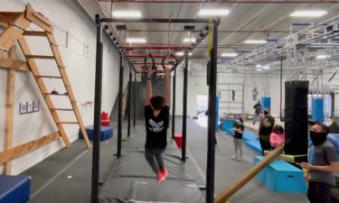 Altitude Ninja Gym competition