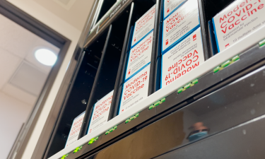 Minibar RX vaccine storage fridge