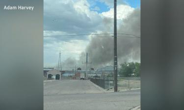 Evraz Steel Mill explosion