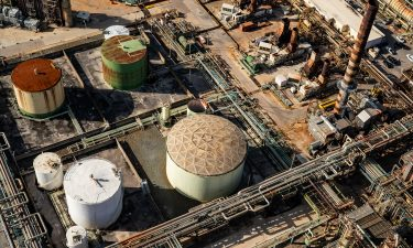 The Limetree Bay oil refinery in St. Croix said it would close indefinitely