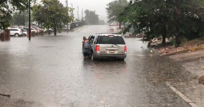 Heavy rain brings widespread flash flooding to Colorado Springs area Saturday - KRDO