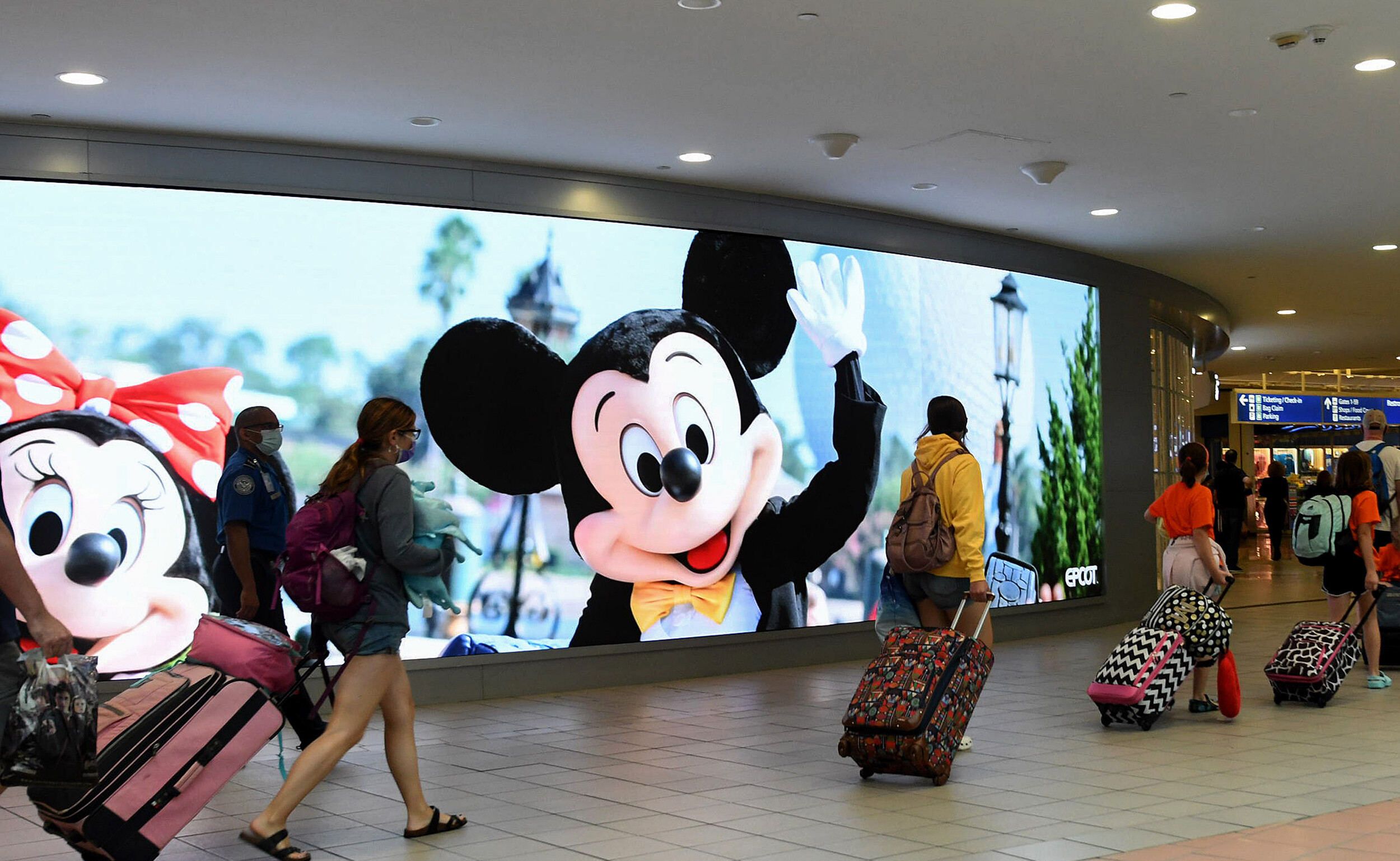 <i>Paul Hennessy/SOPA Images/LightRocket/Getty Images/FILE</i><br/>The mayor of the Florida county that's home to Disney World and Universal Studios is sounding the alarm on a spike of Covid-19 cases in the area
