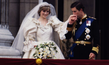 A slice of cake from Prince Charles and Princess Diana's 1981 wedding is going up for auction.