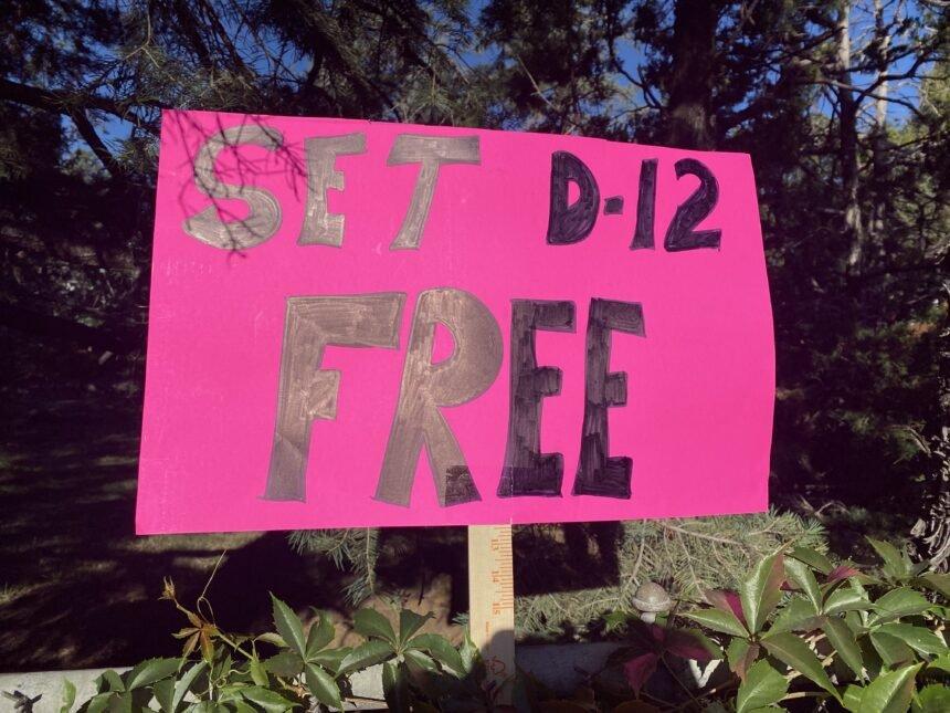 Cheyenne Mountain SD protest