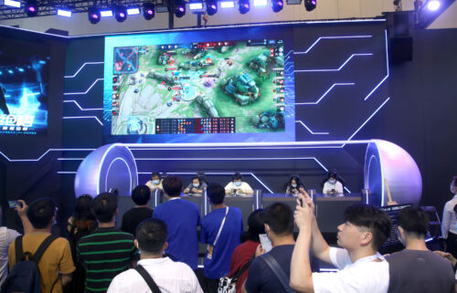 Tencent announces new limits on screen time as China increases crackdown on the gaming industry. This image taken on July 9 shows Tencent's game Honor of Kings in Shanghai