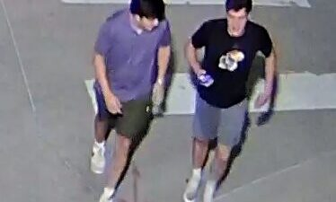 The University of Kansas Public Safety Office posted a picture of the two on Twitter