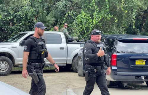 Police and the FBI search for Brian Laundrie in the Carlton Reserve in Florida.
